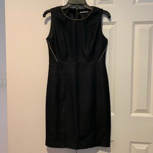 T Tahari Dress - Navy and Gold - Size 2